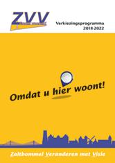 ZVV Verkiezingsprogramma 2018-2022